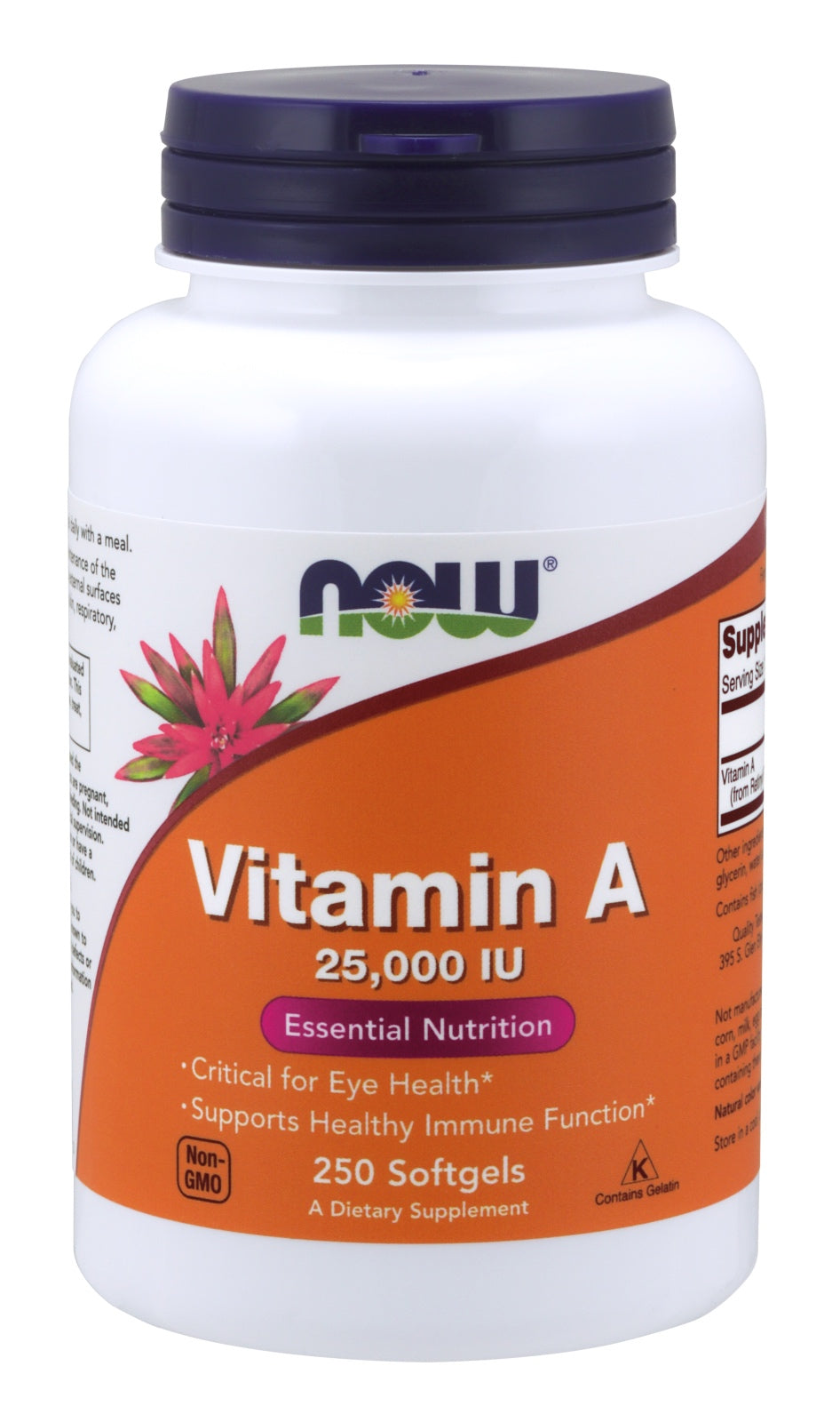 Vitamin A (Fish Liver Oil), 250 Softgels