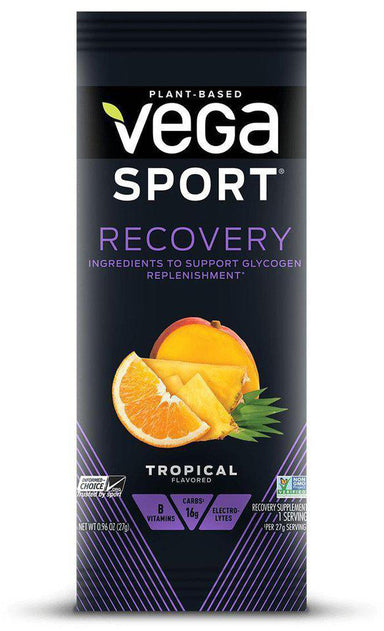 Vega Sport® Recovery, Tropical Flavor, Packet, 1 oz