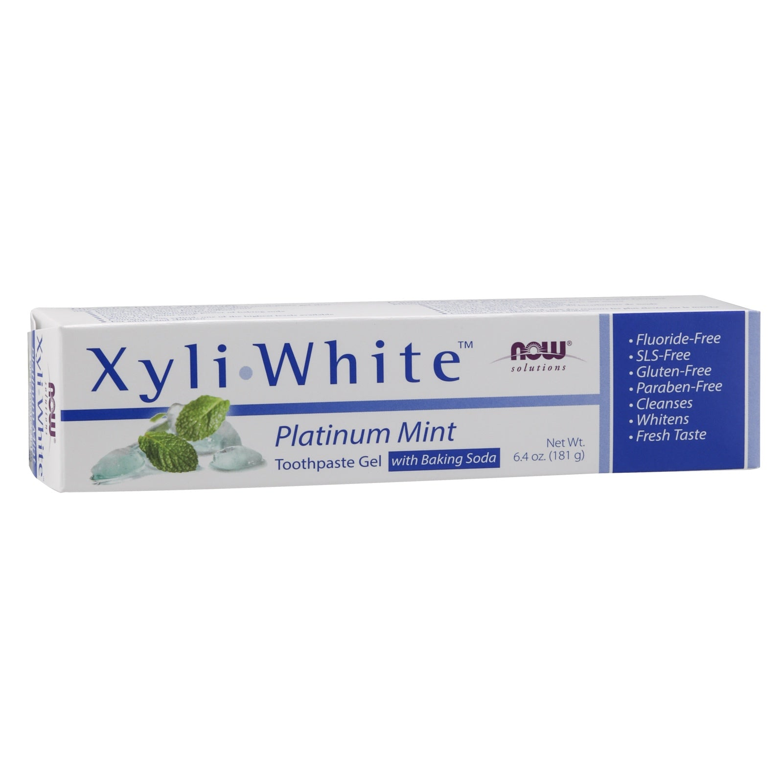 XyliWhite Platinum Mint Toothpaste Gel with Baking Soda, 6.4 oz.