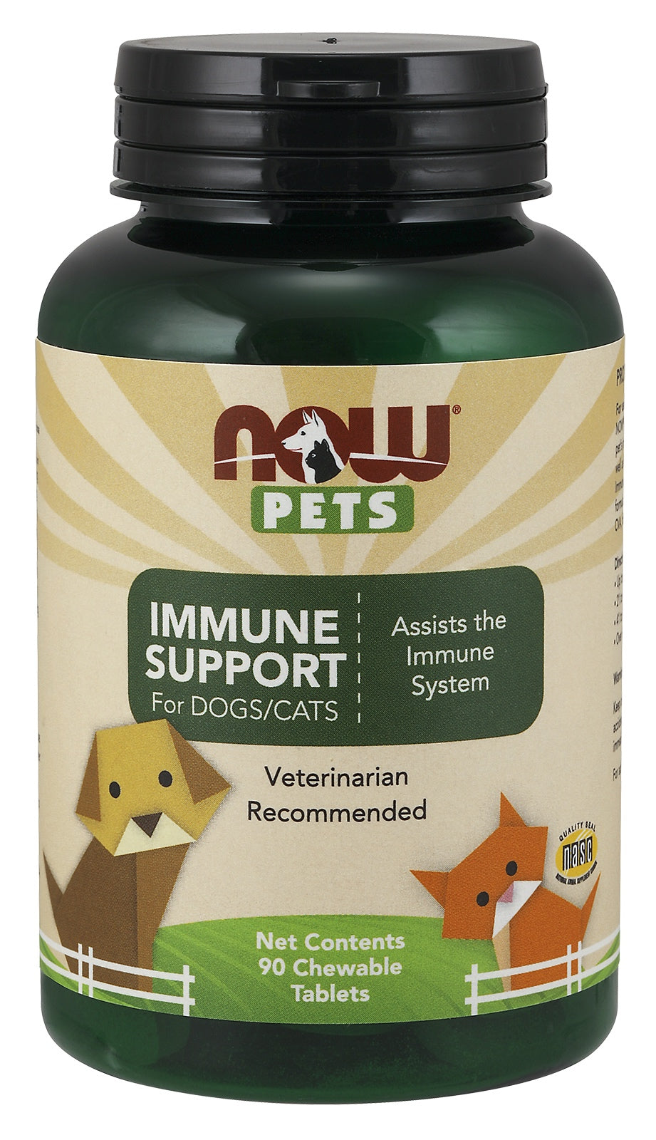 Immune Support Chewables for Dogs & Cats, 90 Chewables
