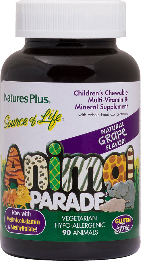 Natures Plus, Animal Parade Grape, 180 Tablets
