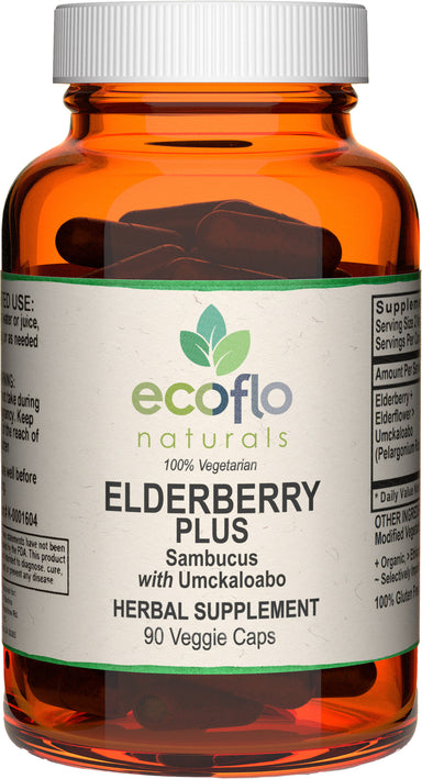Elderberry Plus, 90 Vegetarian Capsules