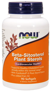 Beta-Sitosterol Plant Sterols, 90 Softgels