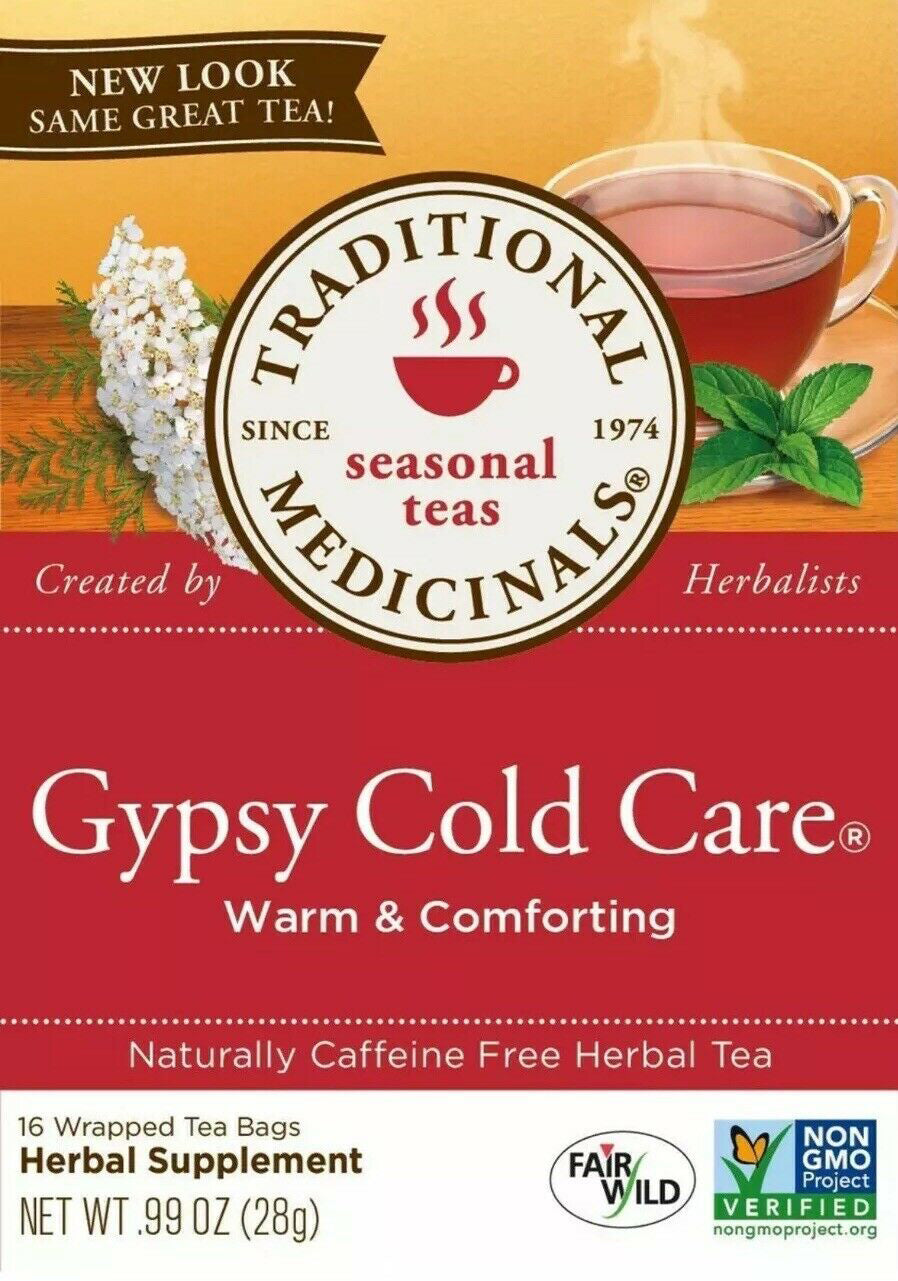 Gypsy Cold Care® Warm & Comforting, 0.99 Oz (28 g) - 16 Tea Bags