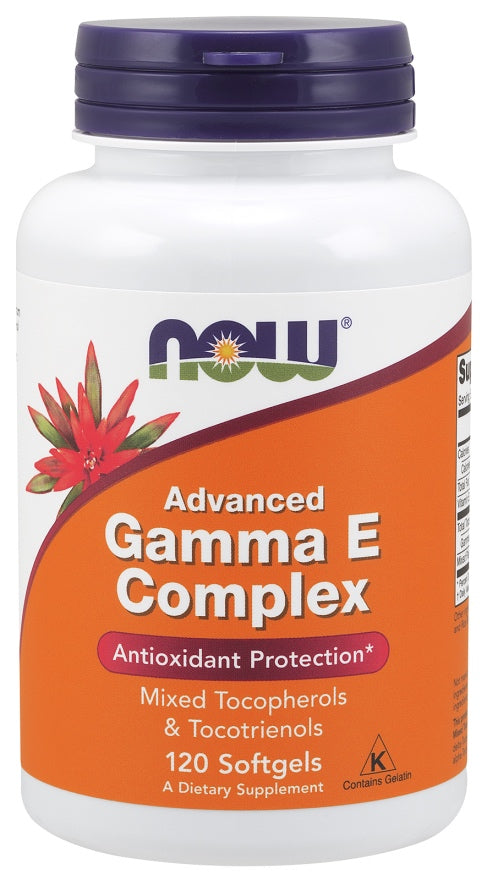 Advanced Gamma E Complex, 120 Softgels