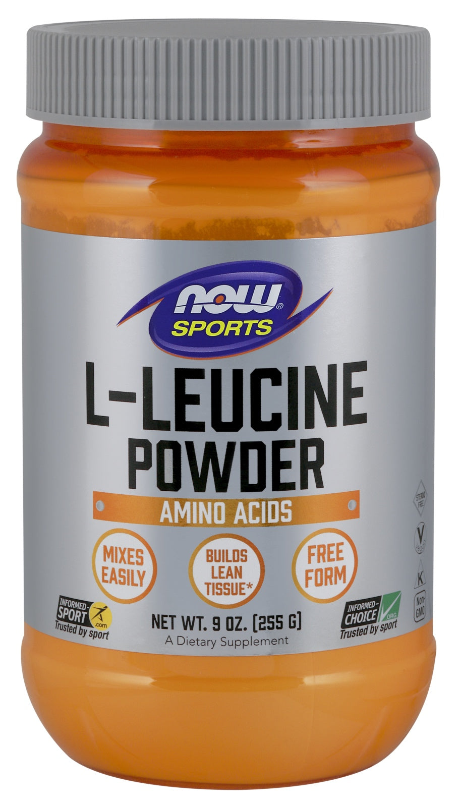 L-Leucine Powder, 9 oz.