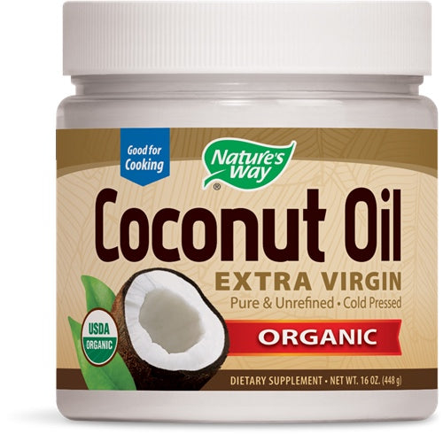 Organic Coconut Oil, 16 oz