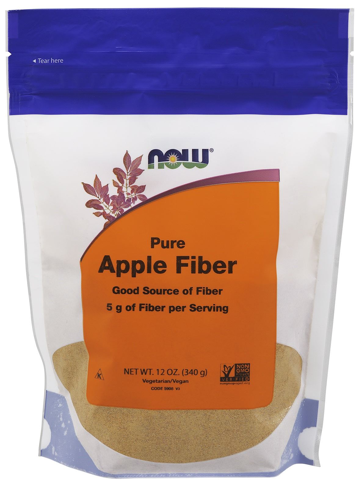 Apple Fiber, 12 oz.
