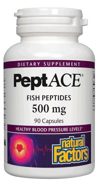 PeptACE, 500 mg, 90 Capsules