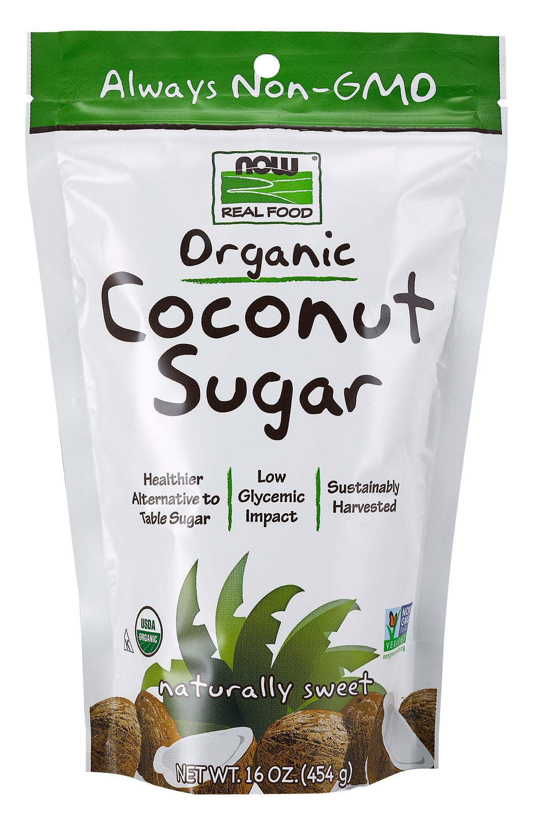 Coconut Sugar, Organic, 16 oz.