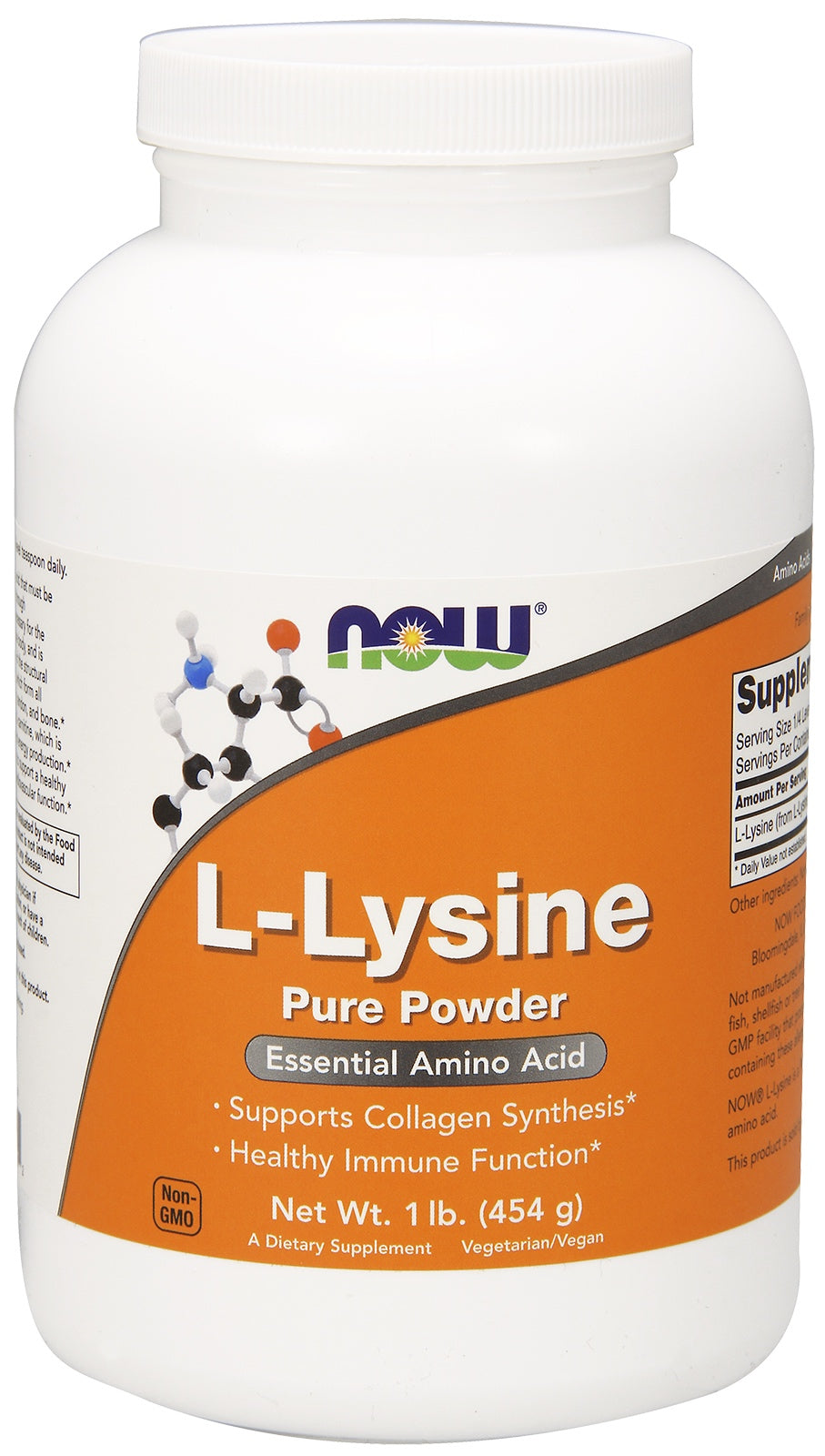 L-Lysine Powder, 1 lb.