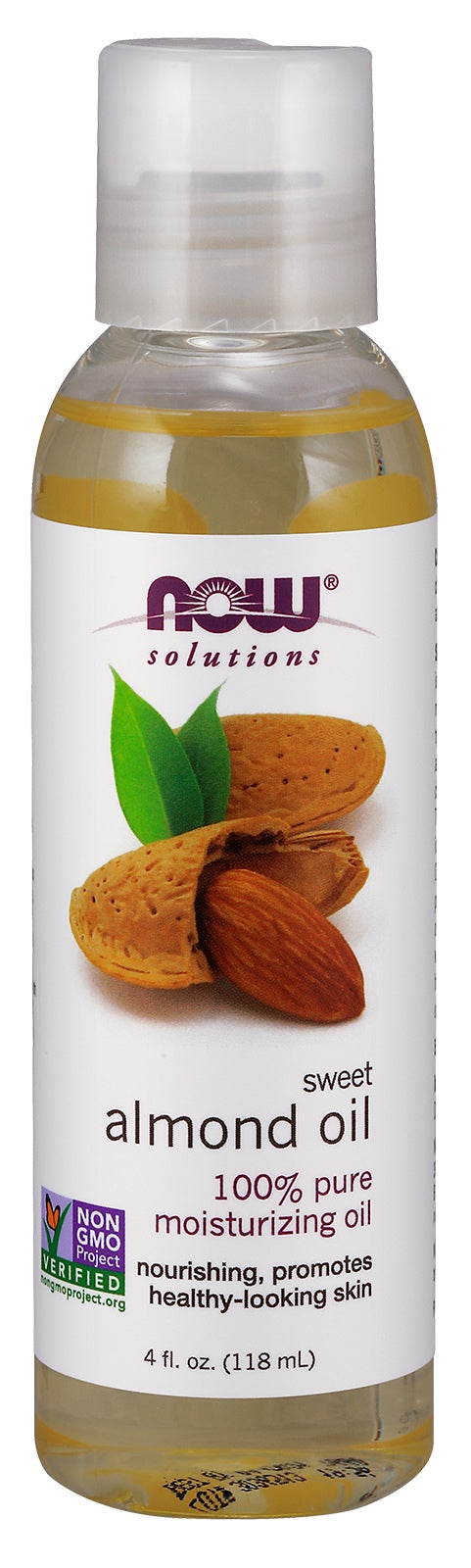 Sweet Almond Oil, 4 fl oz.