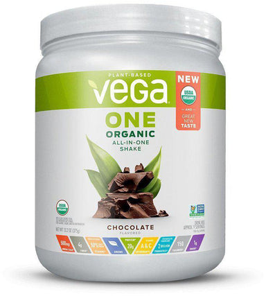 Vega One® Organic All-In-One Shake, Chocolate Flavor, 16 oz (461 g)