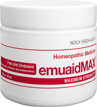 emuaidMAX® First Aid Ointment Maximum Strength, 2 Fl Oz (59 mL) Ointment