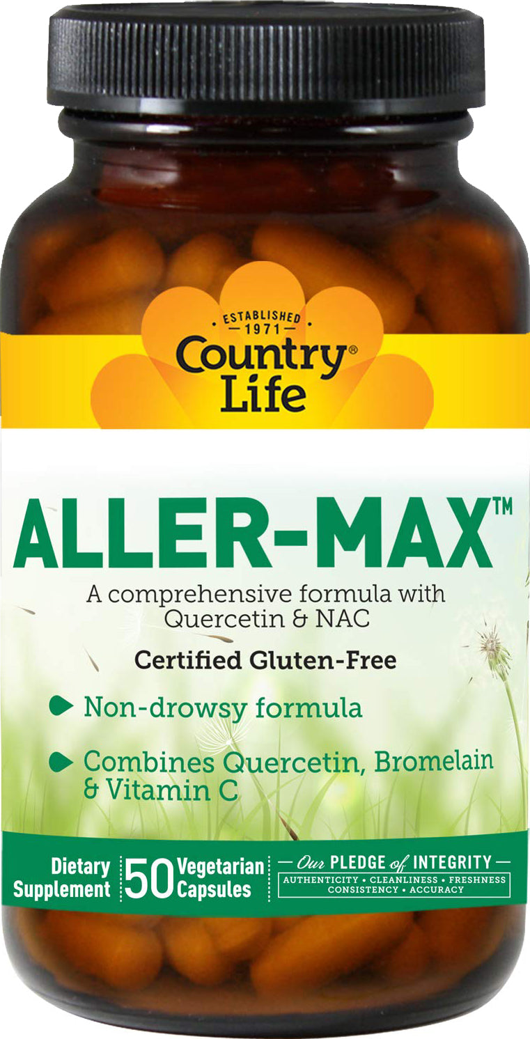 Aller-Max, with Quercetin and NAC, 50 Vegetarian Capsules