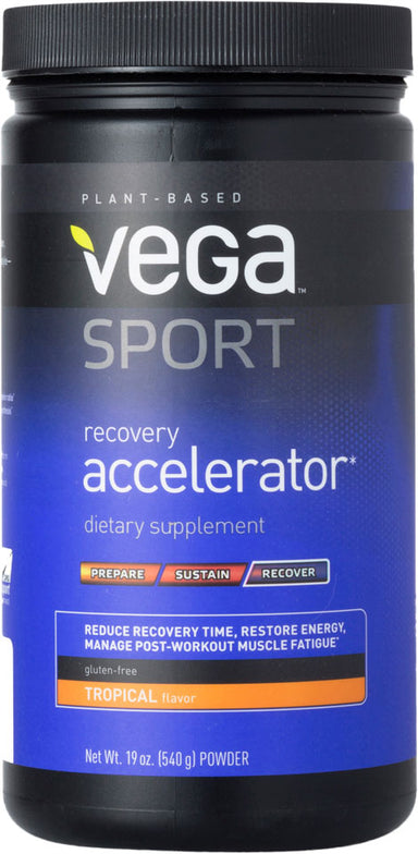 Recovery Accelerator, Tropical Flavor, 19 Oz (540 g) Powder