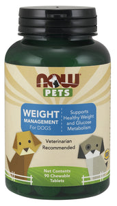 Weight Management Chewable for Dogs, 90 Chewable Tablets