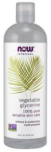 Vegetable Glycerine, 16 fl oz.