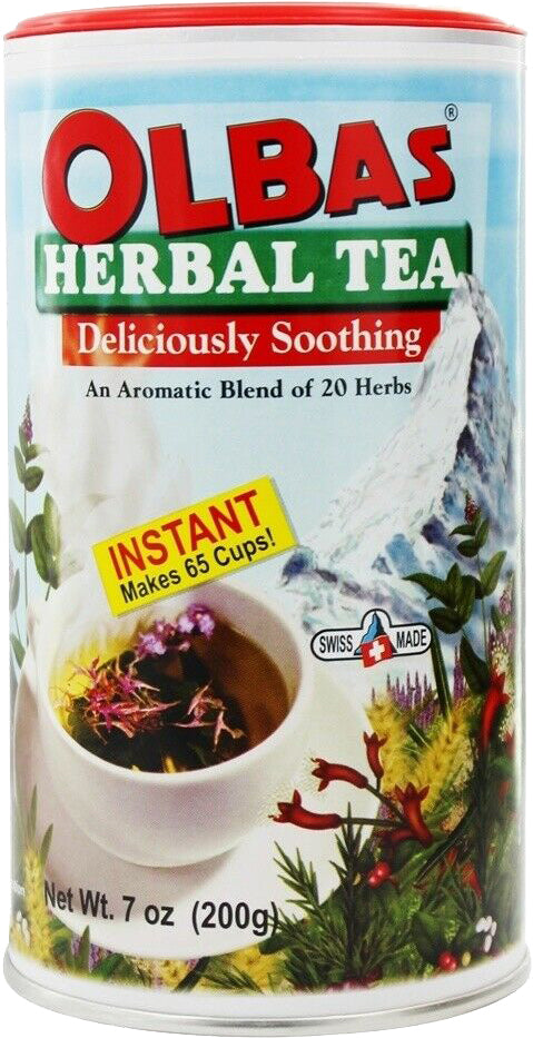 Deliciously Soothing Herbal Tea with an Aromatic Blend of 20 Herbs, 7 Oz (200 g) Tea Mix