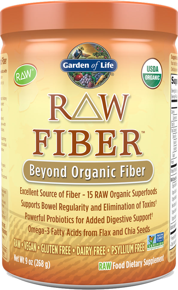 RAW Fiber™ Organic Powder, 12 oz Packet