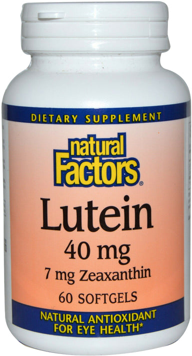 Lutein 40 mg, 60 Softgels
