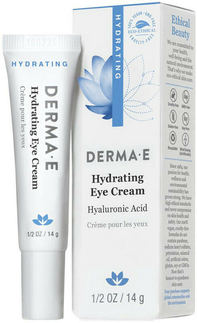 Hydrating Eye Cream with Hyaluronic Acid, 0.5 Oz (14 g) Cream