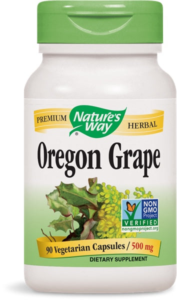 Oregon Grape Root, 90 Capsules