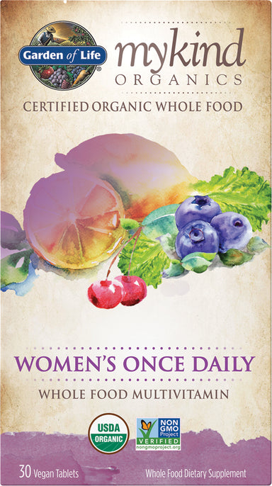 mykind Organics Women's Once Daily Multi, 30 Vegan Tablets