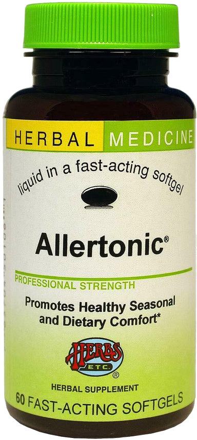 Allertonic, 60 Fast-Acting Softgels