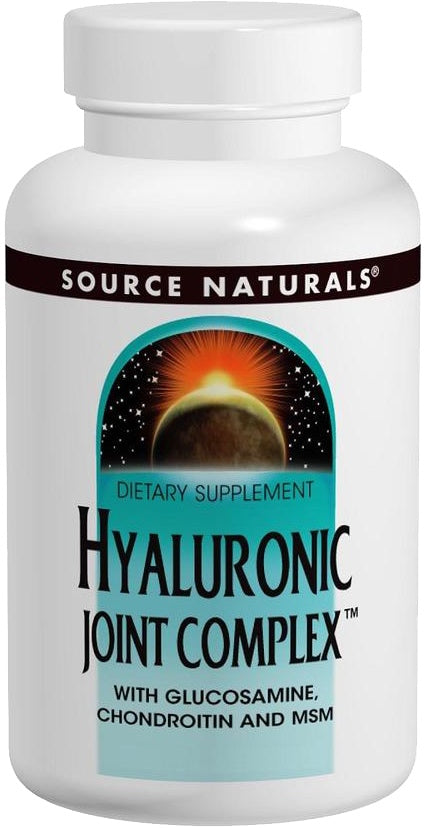 Hyaluronic Joint Complex™ with Glucosamine and Chondroitin and MSM, 120 Tablets