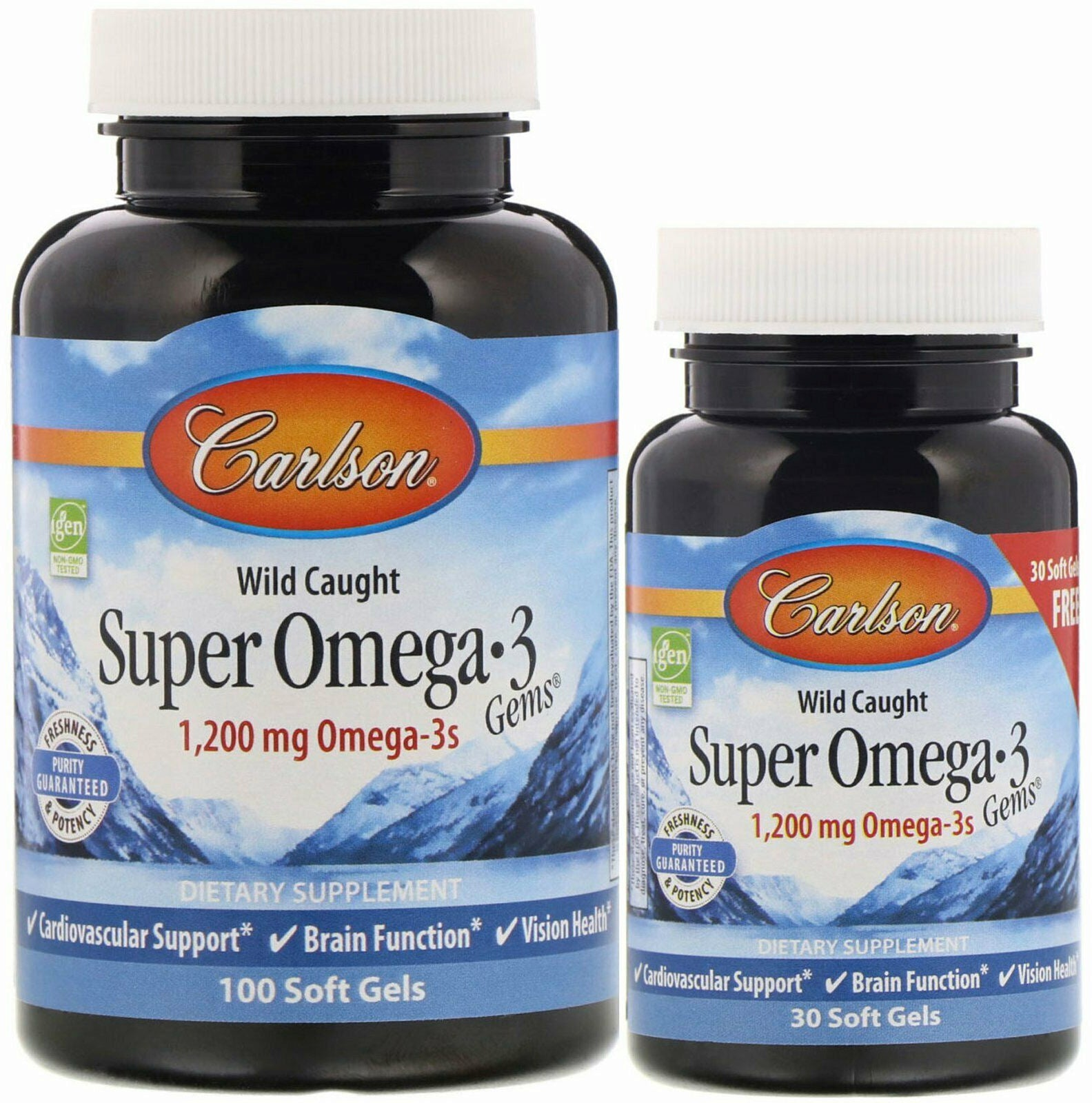 Super Omega-3 Gems 100 + 30 Softgels