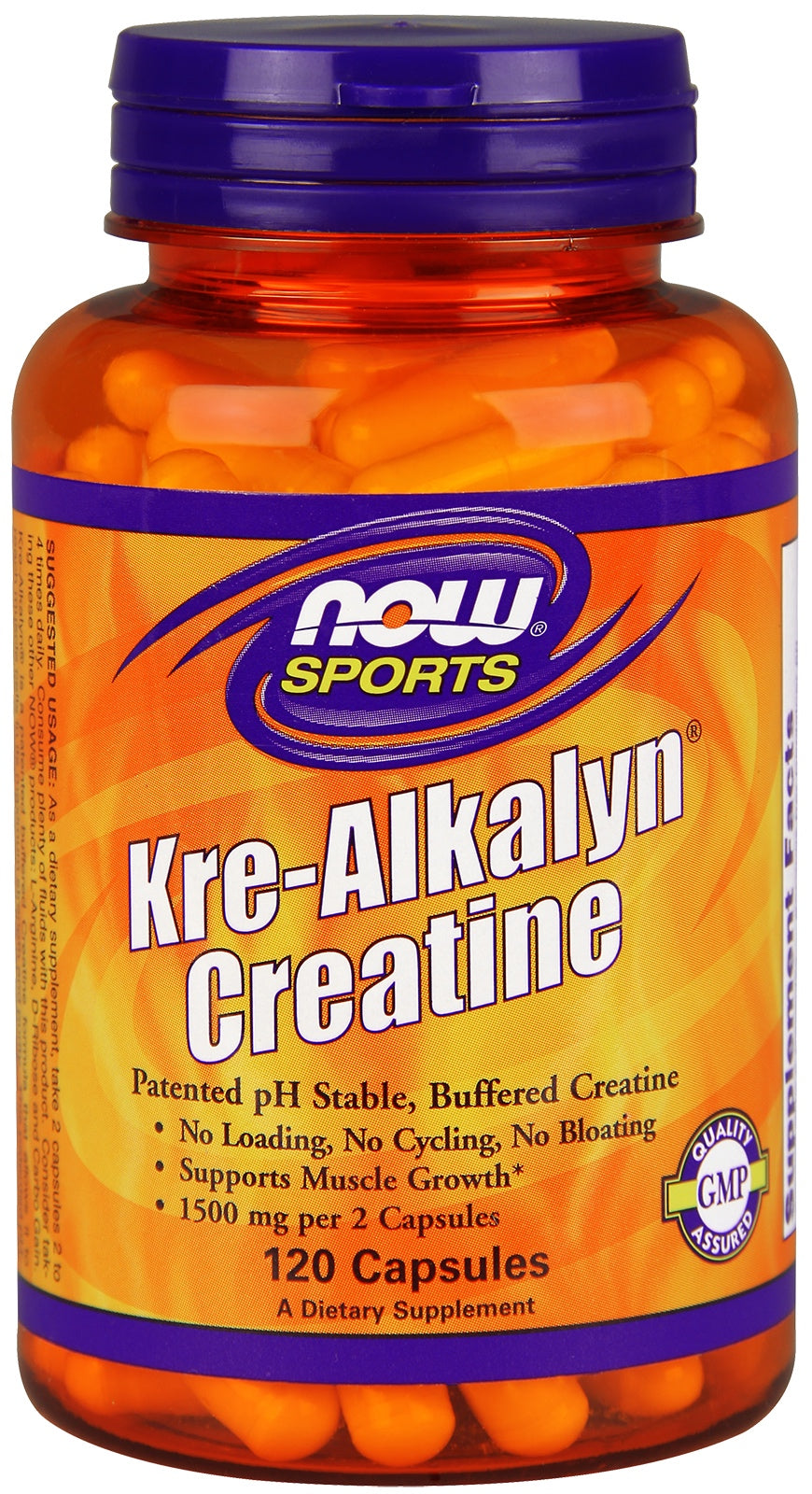 Kre-Alkalyn® Creatine Capsules