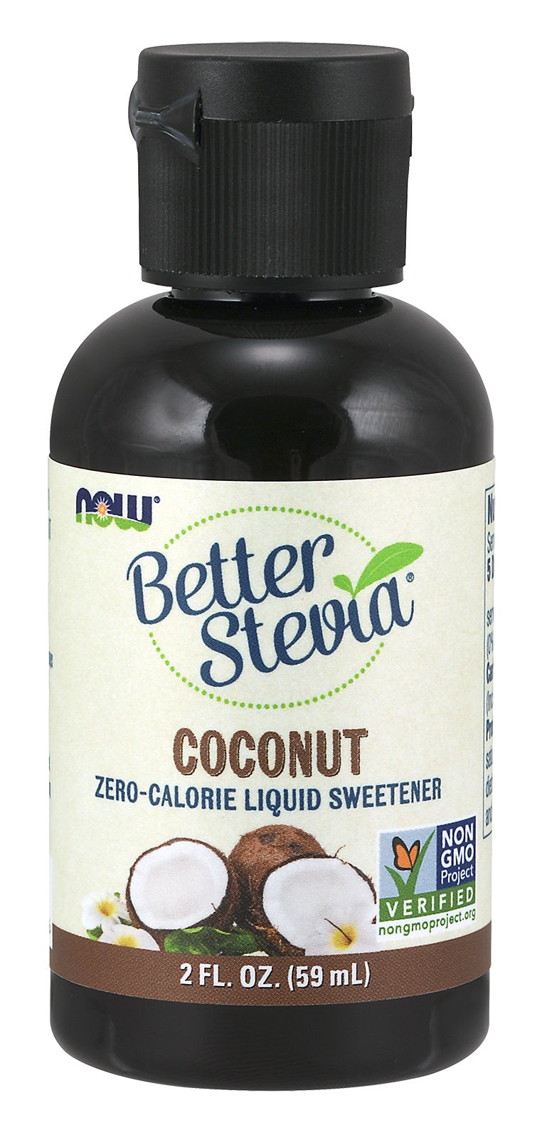 BetterStevia® Liquid, Coconut, 2 fl oz.