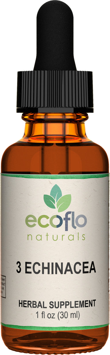 3 Echinacea, 1 Fl Oz (30 mL) Liquid
