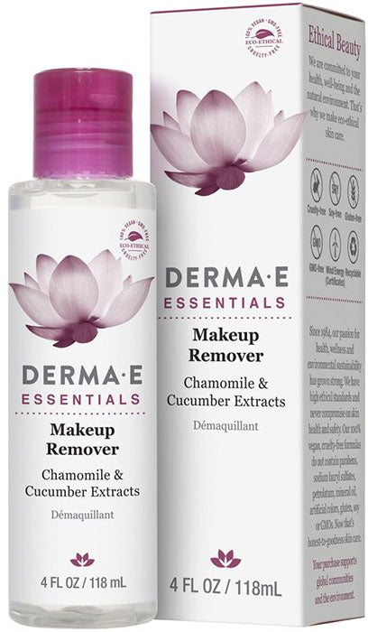 Makeup Remover with Chamomile & Cucumber Extracts, 4 Fl Oz (118 mL) Gel