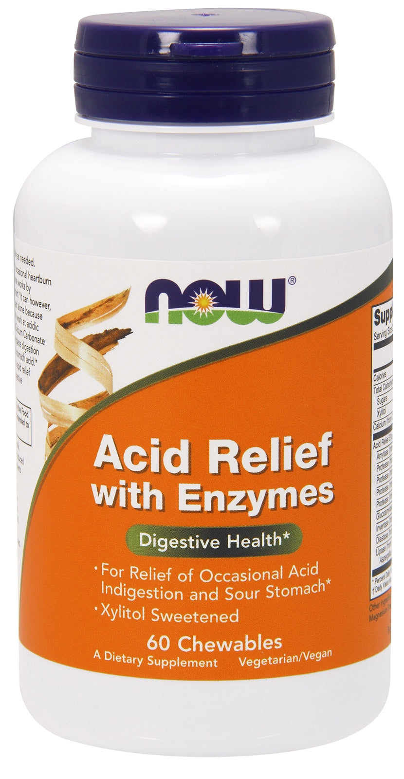Acid Relief with Enzymes Chewables, 60 Chewables