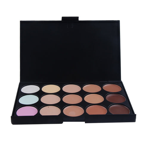 Pro 15 Color Neutral Warm Eyeshadow Palette Eye Shadow Makeup Cosmetics