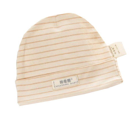 0-1 Years Organic Colored Cotton Baby Hat Infant Hat
