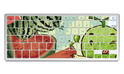 "1 Piece MacBook Pro 13"""" Keyboard Sticker Decal Keyboard Skin Watermelon"