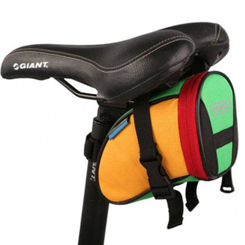 [Colorful]Cycling Seat Bag Bicycle Saddle Bag Under Seat Pack Bike Seat Pouch