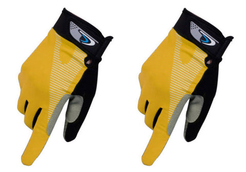Perfect for Summer Use Climbing Gloves Outdoor Sport Gloves Gym Gloves Yellow