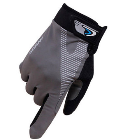 Perfect for Summer Use Climbing Gloves Outdoor Sport Gloves Cycling Gloves Gray