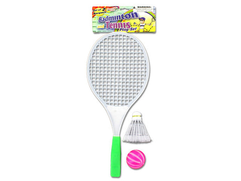 Badminton & Tennis Play Set: Case of 144