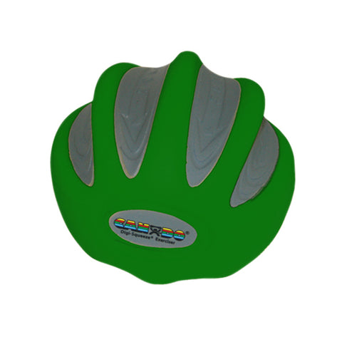 CanDo Digi-Squeeze hand exerciser - Large - green, moderate