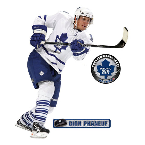 Dion Phaneuf Fathead NHL Maple Leafs Hockey Wall Accent