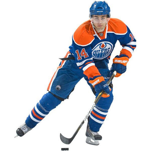 Jordan Eberle Fathead NHL Oilers Hockey Wall Accent Sticker