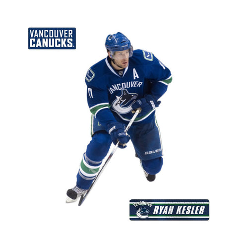 Ryan Kesler Fathead Jr NHL Canucks Hockey Wall Sticker