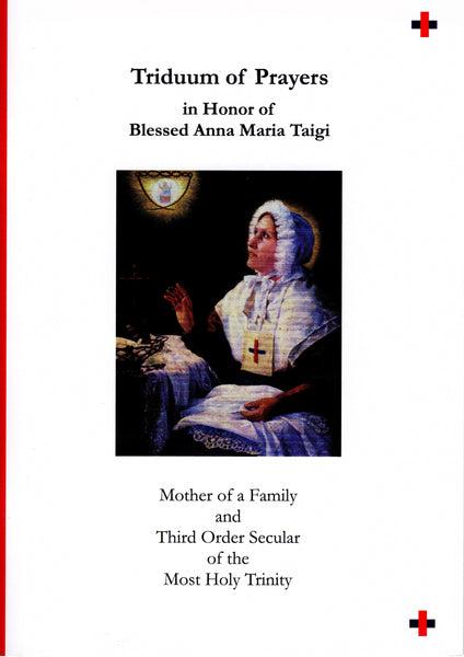 Triduum of Prayers in Honor of Blessed Anna Maria Taigi