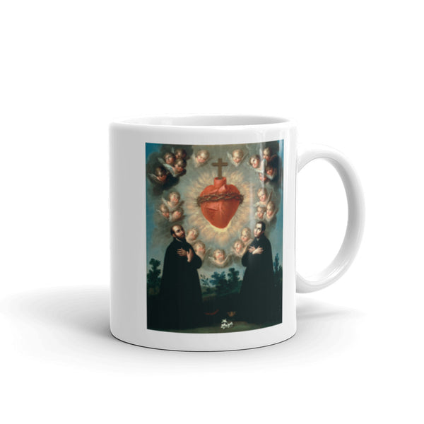Morning Offering Mug - Sacred Heart & Jesuit Saints