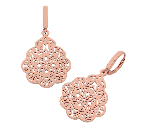 Nel Rose Gold Earrings